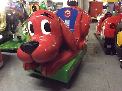 Coin Operated Clifford Kiddie Ride