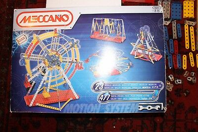 Meccano motorised fairground funfair set 8257