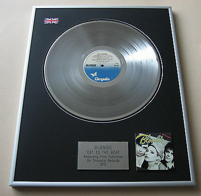 BLONDIE Eat To The Beat LP Platinum Presentation Disc