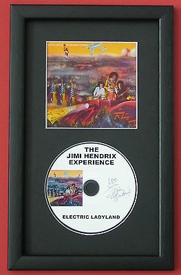 JIMI HENDRIX EXPERIENCE Electric Ladyland AXIS: BOLD AS LOVE CD Disc Presention