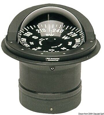 "Boat Marine High Speed Compass 6"" 150mm Flat rose Riviera"