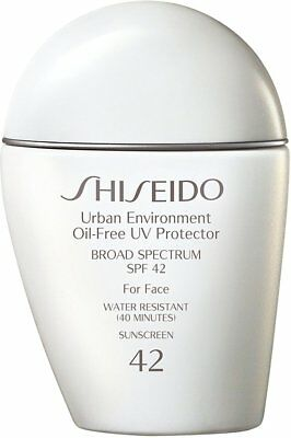 Urban Environment Oil-free UV Protector SPF 42, SHISEIDO, 30 ml