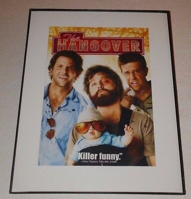 11 X 17 Framed Movie Poster : THE HANGOVER !   (LOT # 2)