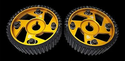 Brian Crower BC8830 Adjustable Cam Gears Toyota 2JZGTE 2JZ Supra 1JZGTE 1JZ PAIR