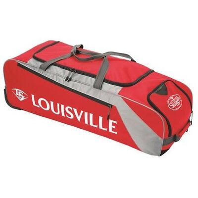 (scarlet) - Louisville Slugger Series 3 Rig Equipment Bag. Shipping is Free