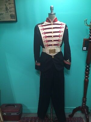 Vintage 1960s Marching Band Uniform Costume