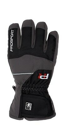 (4, Charcoal) - Prosport Children's Gloves, Children's, Fingerhandschuhe