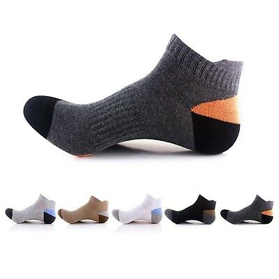 (Refer to: UK 2-6/EUR 35-39, 5 Pairs: Black, White, Light Grey, Dark Grey,