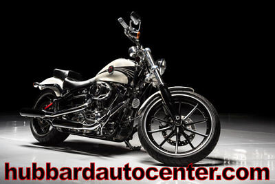 Harley-Davidson FXSB Breakout  2014 Harley-Davidson Breakout Only 3,900 Miles, Pearl White, Awesome Bike!!!