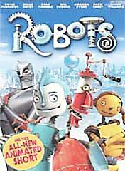 Robots (DVD) -- BRAND NEW in factory-sealed packaging