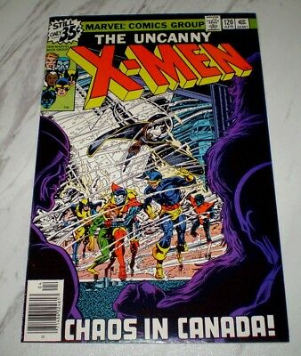 X-Men #120 NM- 9.2 White pages Unrestored 1979 Marvel 1st Alpha Flight (cameo)