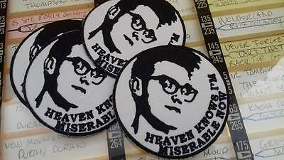new  MORRISSEY iron on patch-the smiths-stone roses-oasis