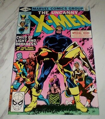 X-Men #136 NM 9.4 White pages Unrestored 1980 Marvel Bronze age