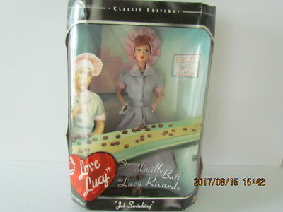 "1998 I Love Lucy Barbie Doll Episode 39 ""Job Switching"" The Chocolate Factory"