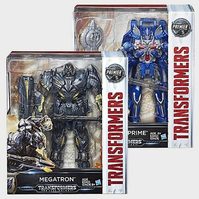 NEW Transformers The Last Knight Premier Edition Leader Class Figures - Assorted