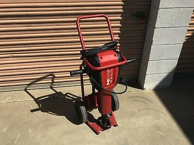 Hilti TE 3000-AVR Demolition Jack Hammer Demo Breaker with Chisel and Drill Bits