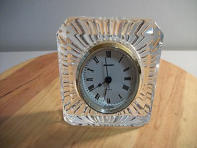 Cristal D'arques France Crystal Staiger Clock Germany Starburst