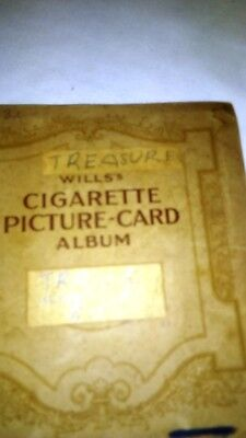 Vintage Will's Cigarette Picture-Card Album X126 Cards and various lose cards.