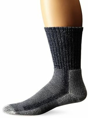 (Large, Navy) - Thorlo Light Hiking Crew Socks. Thorlos. Huge Saving