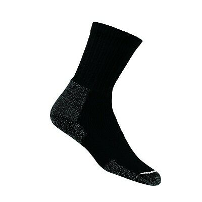 (Large, Black) - Thorlo Thick Hiking Crew Socks. Thorlos. Free Delivery