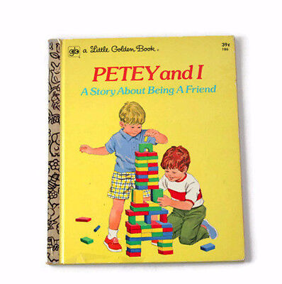 Petey and I  A Story About Being a Friend   A Little Golden Book