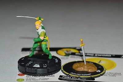 Marvel Heroclix The Mighty Thor Fandral Super Rare 059 & Dueling Sword S007