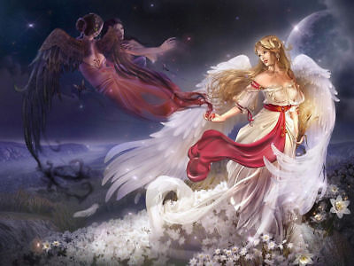 Art wall Home Decor HD print oil painting Beautiful Angel picture on Canvas hx03