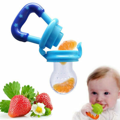 Feeding Pacifier Baby Fresh Food Fruits Soft Feeder Dummy Soother Weaning Nipple