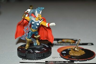 Marvel Heroclix The Mighty Thor Beta Ray Bill Chase 063 & Stormbreaker S011