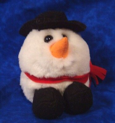NEW! Retired SWIBCO Special Holiday Edition Puffkin FLURRY Snowman MWMT #6669