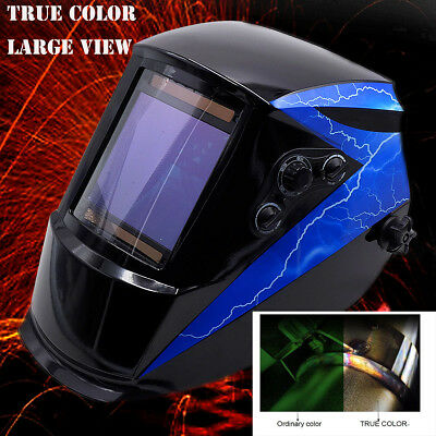True Color + 101x94mm View + 2in1 Grind Welding Helmet TIG Welder MIG Gun Parts