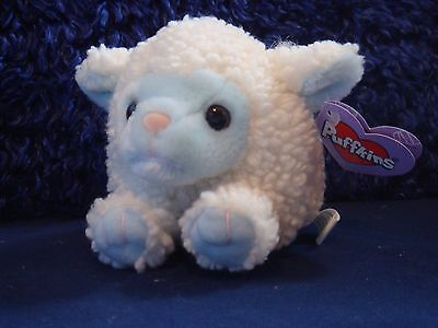 """SWIBCO Plush Beanbag 5"""" Plush Puffkins Bluebelle Special Edition Lamb Blue Face"""