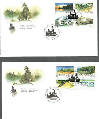 1993 CANADA PROVINCIAL and TERRITORIAL PARKS, FIRST DAY COVERS