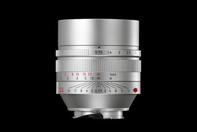 Leica Noctilux 11667 0,95/50mm Silver, Brand New Never Used Lens limited Edition
