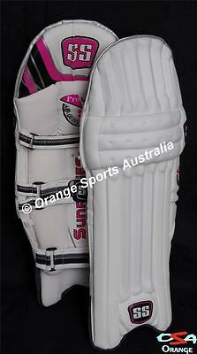 SS AEROLITE PRO RIGHT Handed Mens BATTING PADS+ Light Weight + AU STOCK