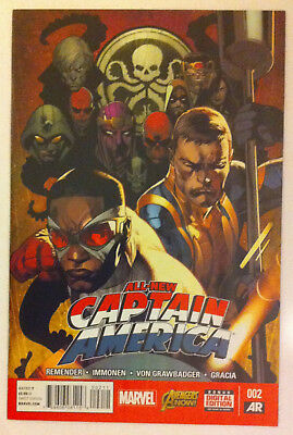 Marvel All New Captain America # 2 comic book 2015