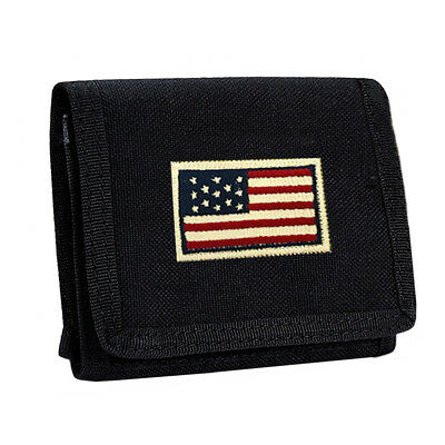 1000D Mens Canvas Trifold Outdoor Wallet ID/Credit Card Holder Coin Money Wallet