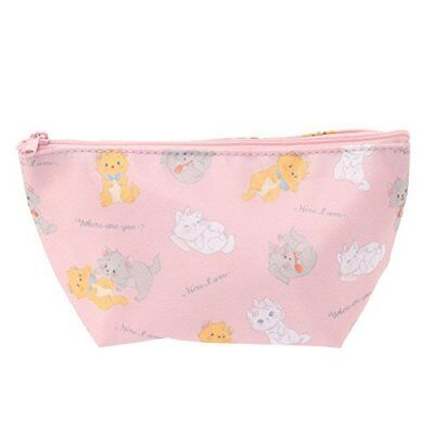 Berlioz Aristocat Marie pink Pouch Pen Case Disney store limited Cosmetic case