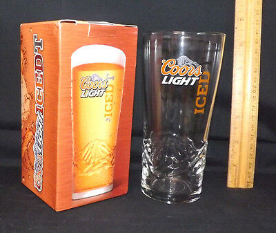 Coors Light Iced Tea Glass. New in the Box. Rare Coors Light Item.