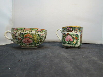 vintage chinese porcelain  cup