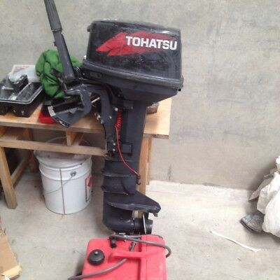 Tohatsu Outboard 9.8 HP Long Shaft