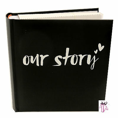 Engagement Wedding Anniversary Our Story 200 Photo Slip In Archival Photo Album