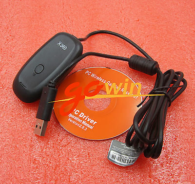 Xbox 360 Games Controller Wireless Gaming USB Receiver Adapter top new