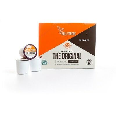 Bulletproof Coffee The Original Coffee Pods 24 Count Compatible with Keurig