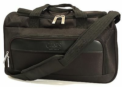 c228dbf970 Chaps By Ralph Lauren 15 Weekender Carry On Duffle Bag Black Canvas
