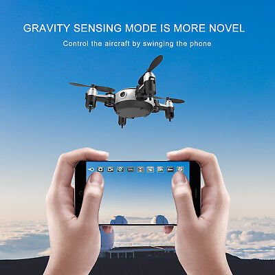 Folding 6-Axis Hover Quadcopter Phone Contro Selfie WIFI 720P FPV Camera Drone