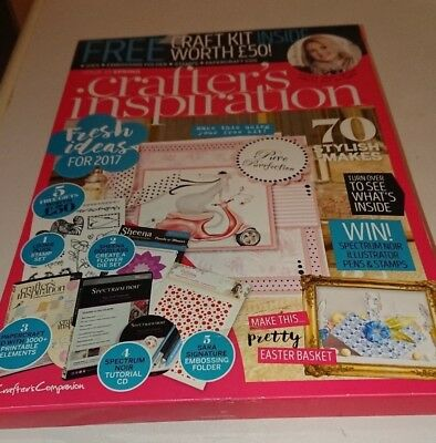 Crafters Companion Crafter's Inspiration Issue 13  Spring Edition