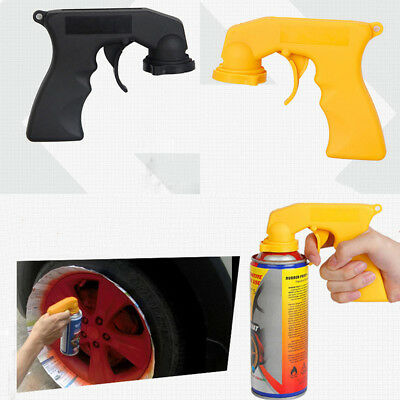 Pro Black/Yellow Car Styling Dip Handle Spray Painting Gun Wheel Color Tools New