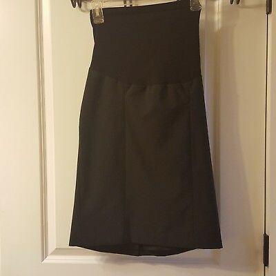Womens A Pea In The Pod Maternity Dress Skirt A Line Size Small Career