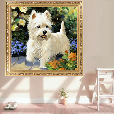 DIY 5D Diamond Painting Cute Dog Animal Embroidery Cross Stitch Home Decor Craft